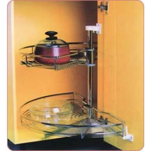 Kitchen accesories vitco 180 swivel basket kit sc18100 for Pemasangan kitchen set